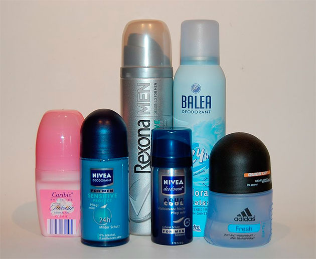 дезодоранты-антиперспиранты на выбор