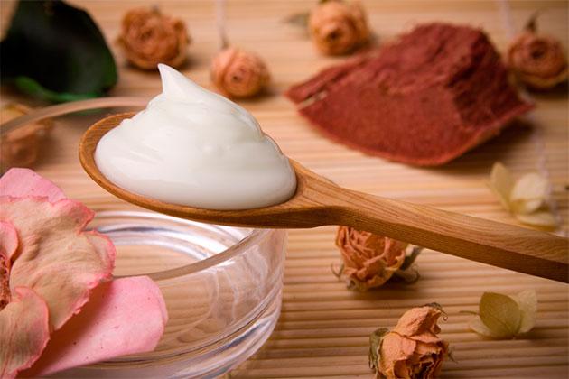 приготовленный крем от пота