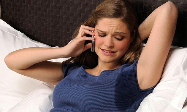 сильное выделение пота во время ночного сна