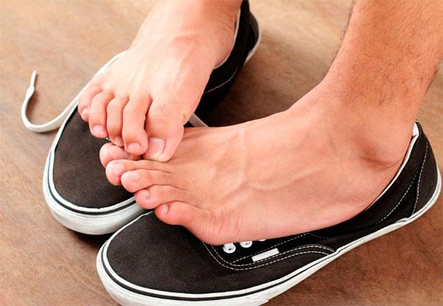 дискомфорт ног в обуви