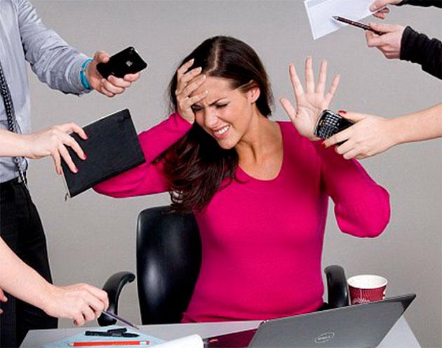 стрессовая ситуация на работе