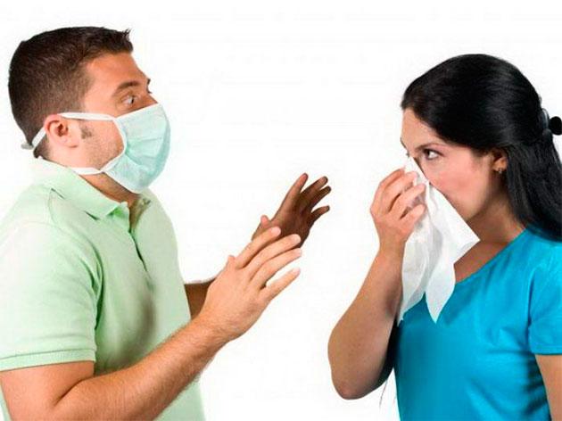 опасение вирусных заболеваний