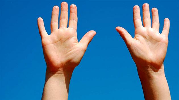 сухие руки