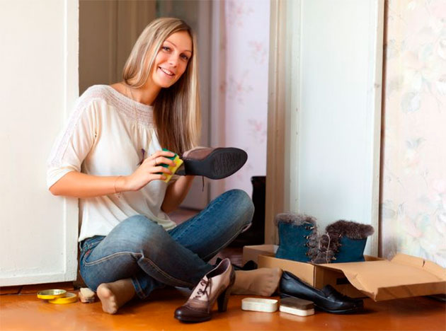 дечистка обуви