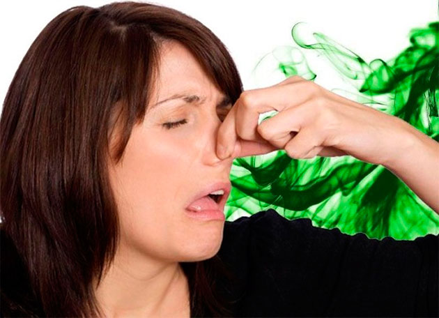 зажатый нос