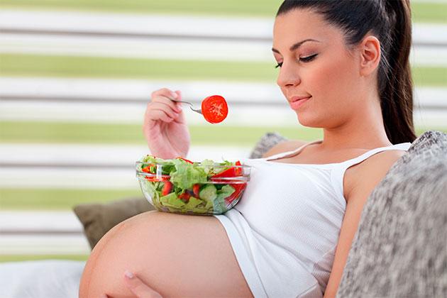 питание беременности