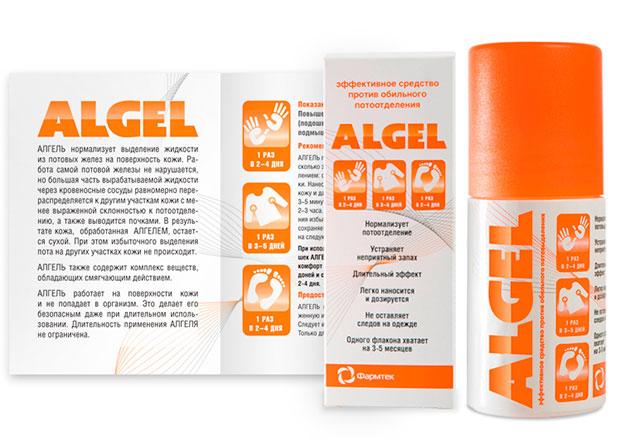 алгель инструкция и упаковка
