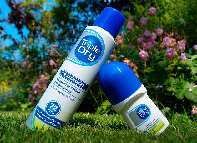 triple dry дезодоранты