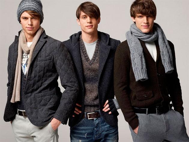подростки в одежде