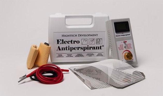 электро антиперспирант - внешний вид