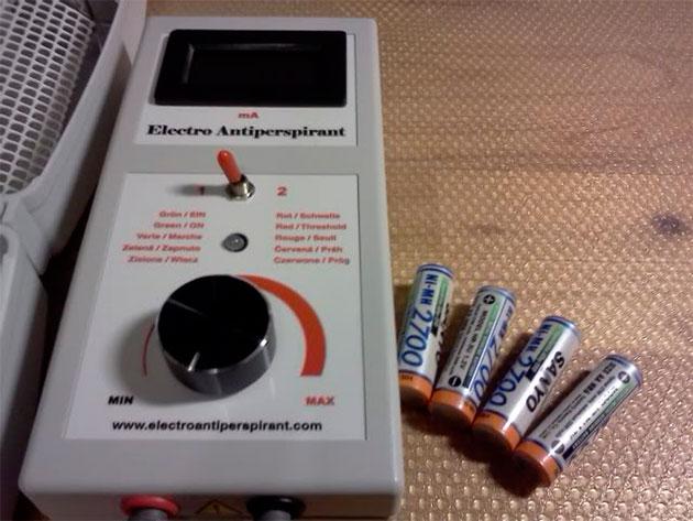 само устройство и батарейки