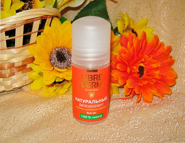 либридерм натуральный дезодорант