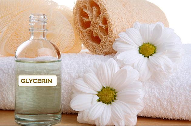 глицерин и полотенца