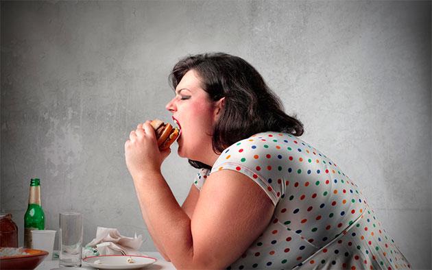ожирение к причина гипергидроза