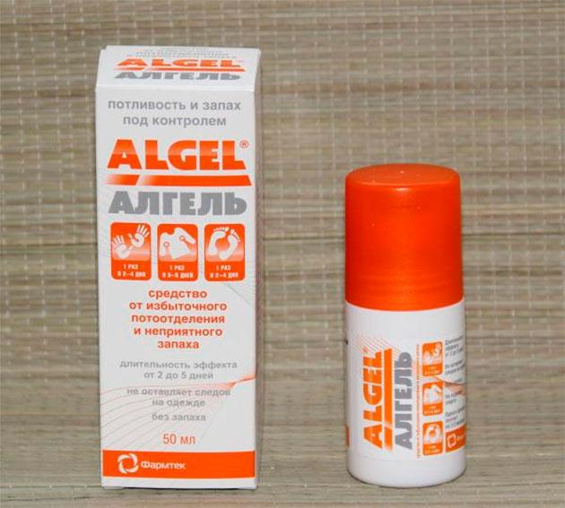 средство от пота Algel