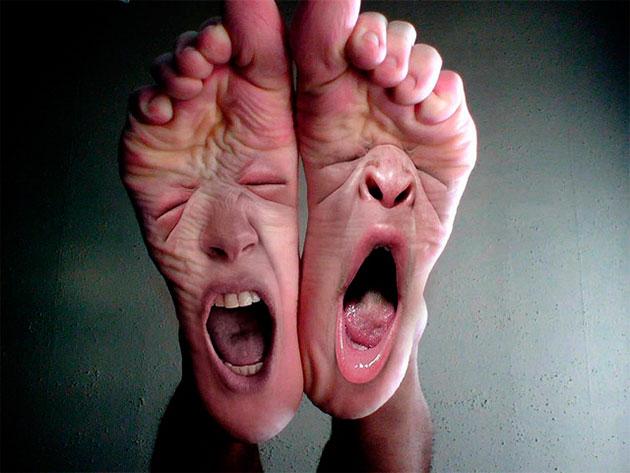 отвратный запах от ног