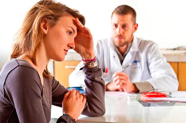 обращение к врачу с гипергидрозом