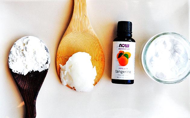 ингредиенты для натурального дезодоранта