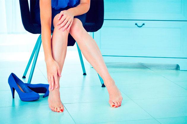последствия тесной обуви