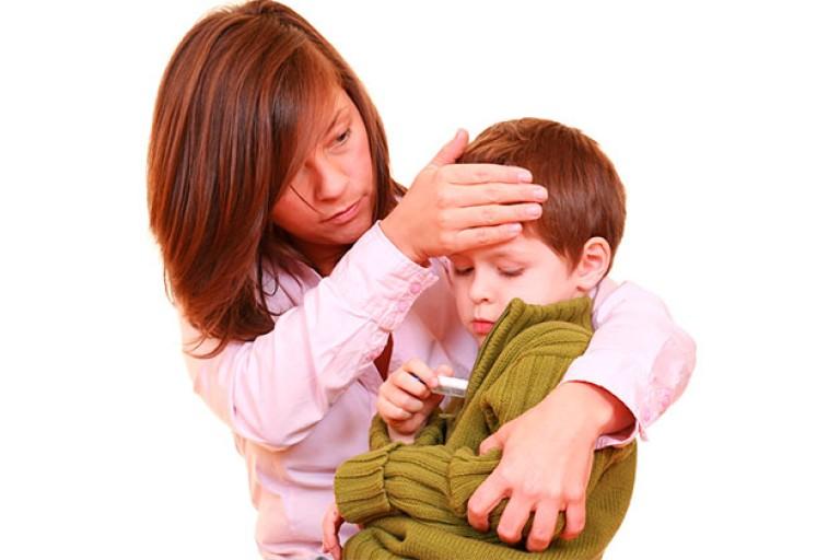 После высокой температуры у ребенка болят ноги –