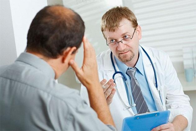 посещение врача со своей проблемой