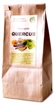 упаковка средства Quercus