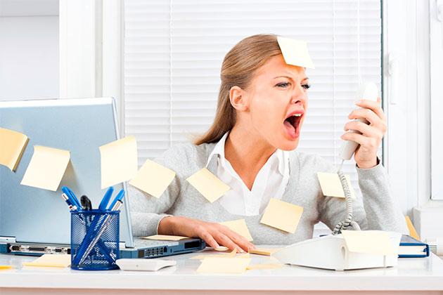 стресс на работе и психоз