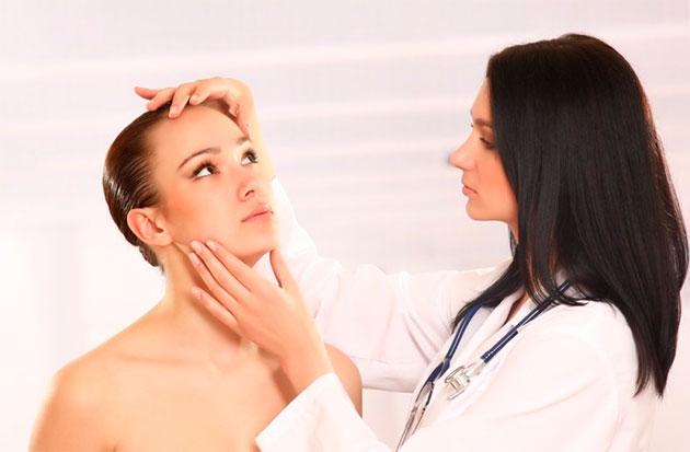 визуальный осмотр у дерматолога