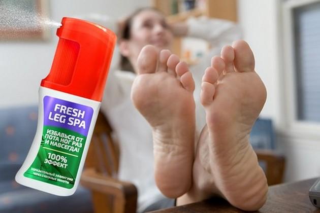 Спрей анти-пот Fresh Leg Spa