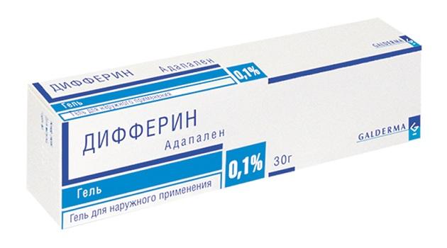 крем дифферин