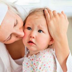 Кислый запах пота у ребенка
