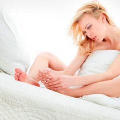Как лечить опрелости между пальцами ног