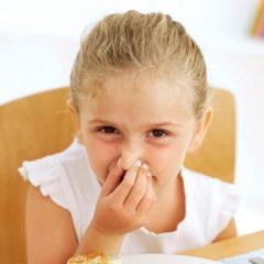 Терпкий запах пота у детей дошкольного возраста